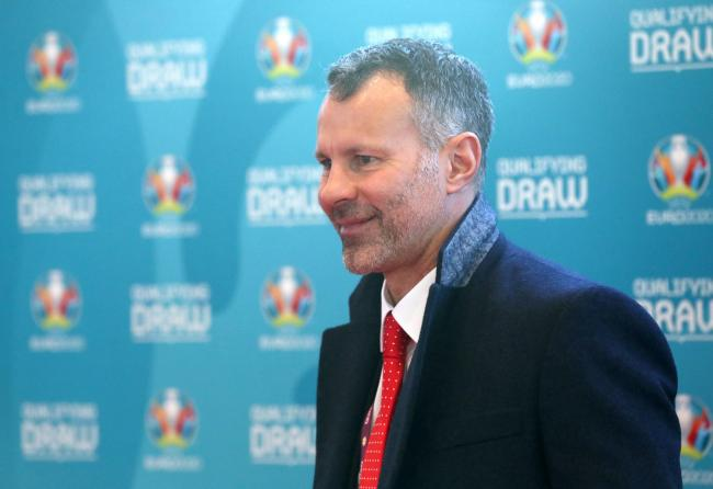 PLEASED: Wales boss Ryan Giggs at the Euro 2020 draw in Dublin today