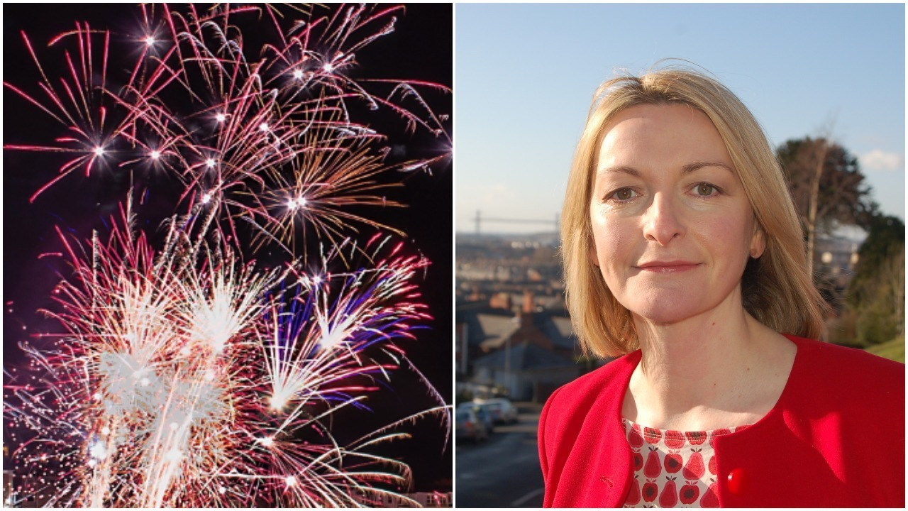 DEBATE: Jessica Morden raised concerns in Parliament about the sale of fireworks to the public