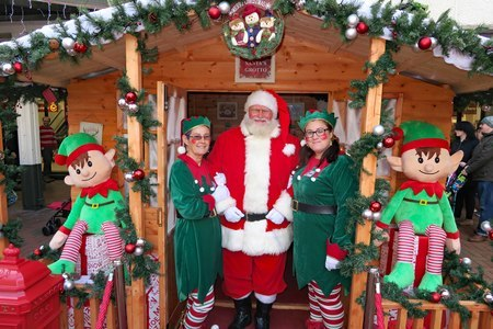 Santas Grotto at St Tydfil Shopping Centre