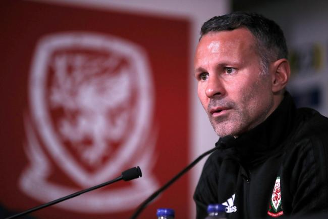 FOCUSED: Wales manager Ryan Giggs will prepare for the Euro 2020 qualifiers with a friendly against Trinidad & Tobago in Wrexham
