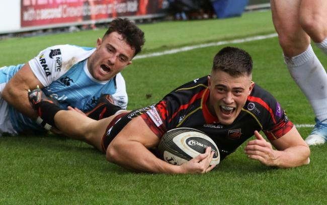 TEAM NEWS: Rosser back for Dragons' derby with Cardiff Blues