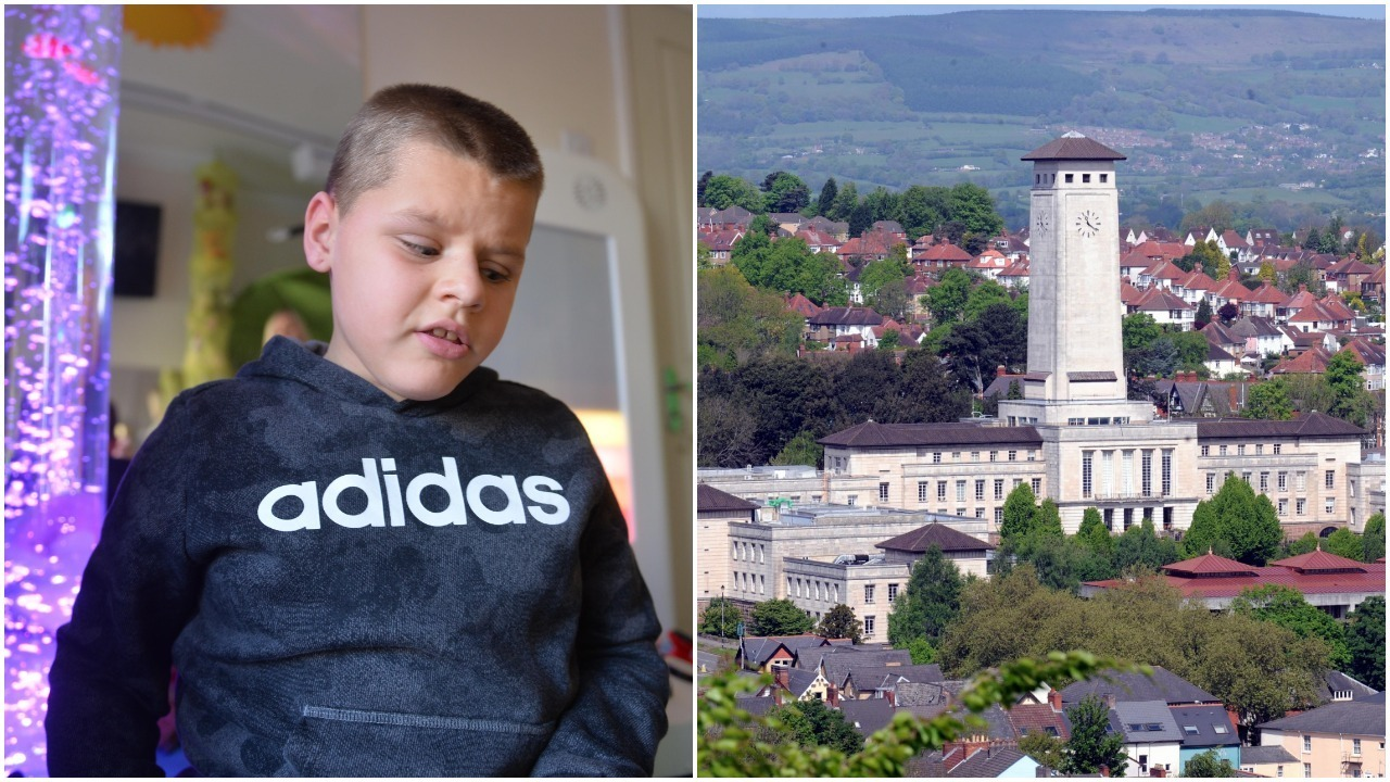 Newport council are facing a legal challenge on behalf of a nine-year-old blind boy