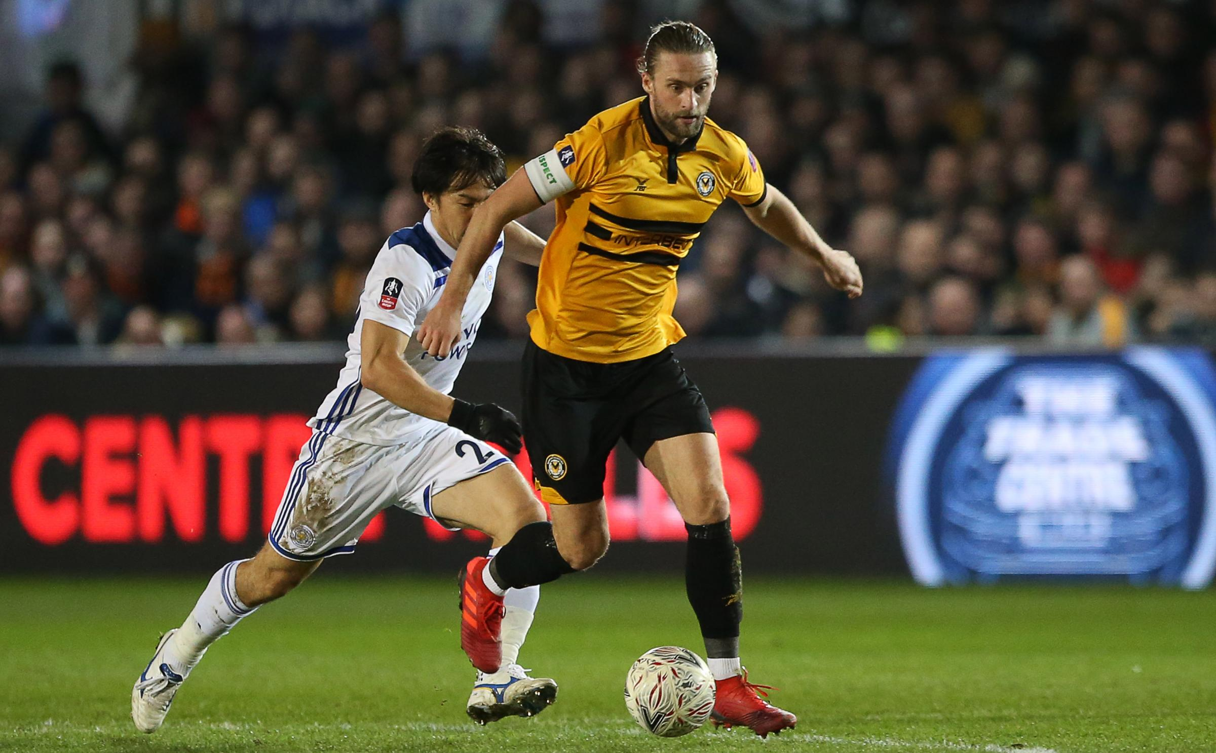 INJURED: Fraser Franks will miss Newport County's trip to Middlesbrough