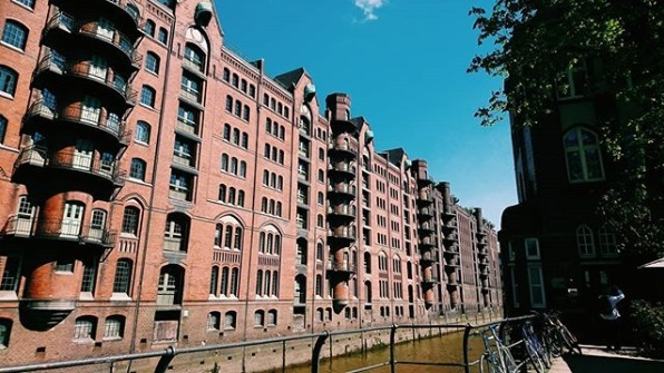 Walking in the Speicherstadt
