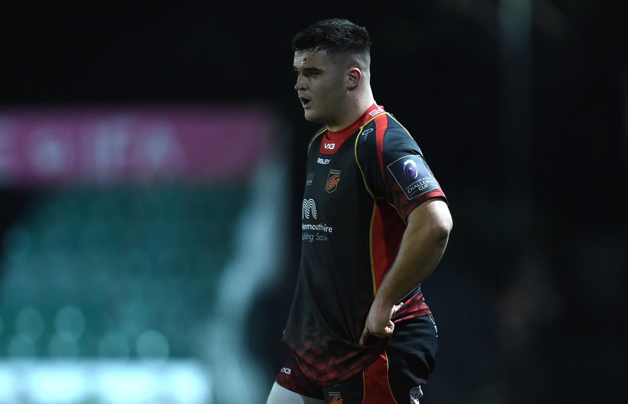 OUT: Prop Chris Coleman injured a shoulder at Merthyr last weekend