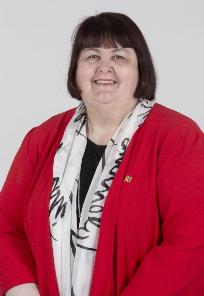Council leader, Cllr Debbie Wilcox