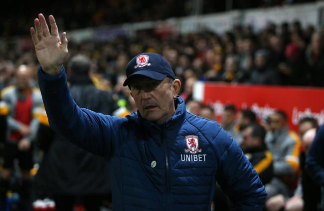 GONE: Newport's Tony Pulis is waving goodbye to Middlesbrough