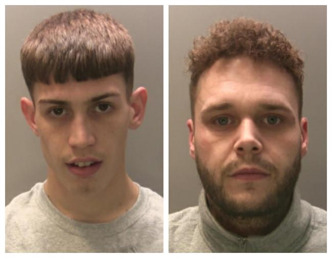 Newport drug dealers caught with cocaine after overturned car