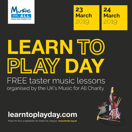 Learn to Play Day is coming to Worcestershire