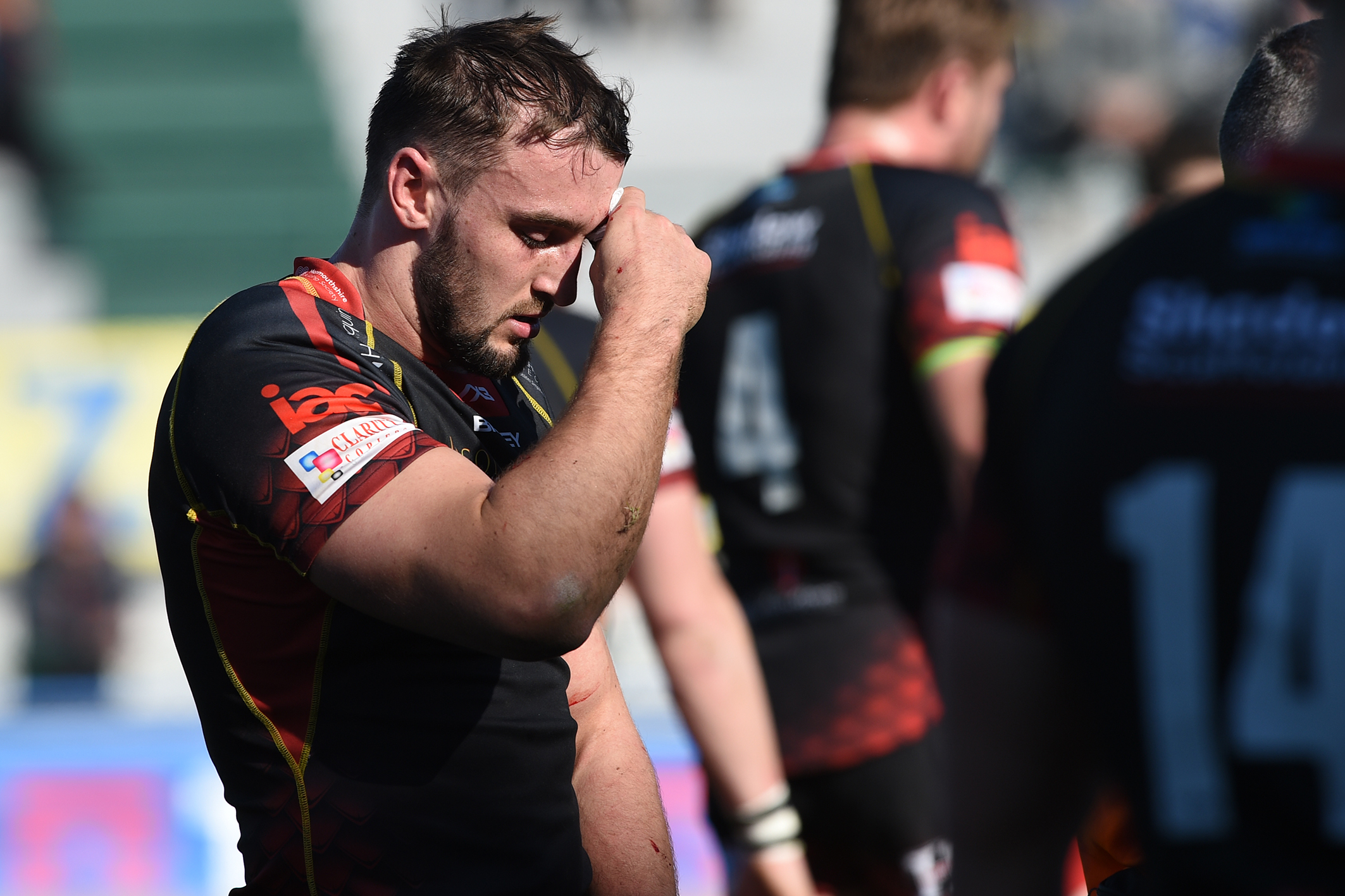 INJURY BLOW: Ollie Griffiths ruptured  his bicep in Treviso