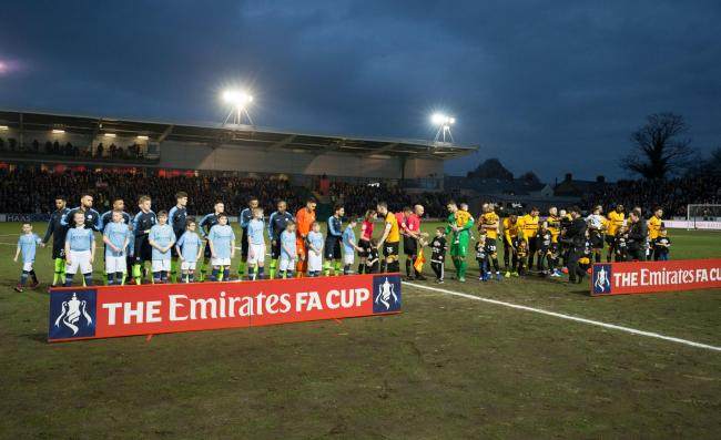 SPOTLIGHT: Newport County welcomed Premier League champions Manchester City to Rodney Parade in the FA Cup fifth round