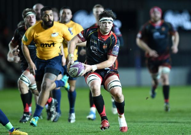 South Wales Argus: INJURY BLOW: James Benjamin is out of Sunday's game with Ulster