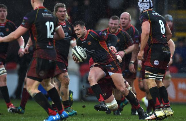 BACK: Dragons playmaker Josh Lewis will provide competition for Sam Davies