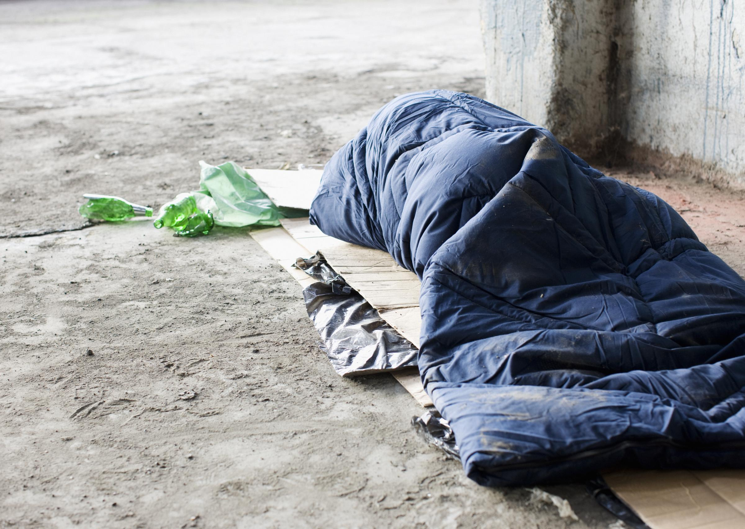 Homeless people in Newport share their stories at the Olive Branch