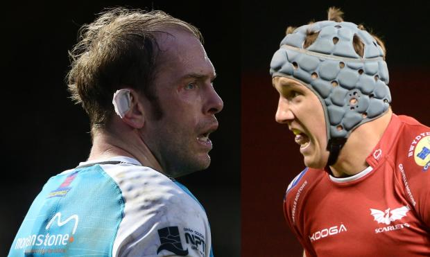 South Wales Argus: MERGER: Talks were held to combine Alun Wyn Jones' Ospreys and Jonathan Davies' Scarlets