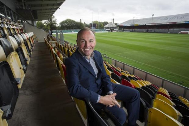 South Wales Argus: OPTIMISTIC: Dragons chairman David Buttress