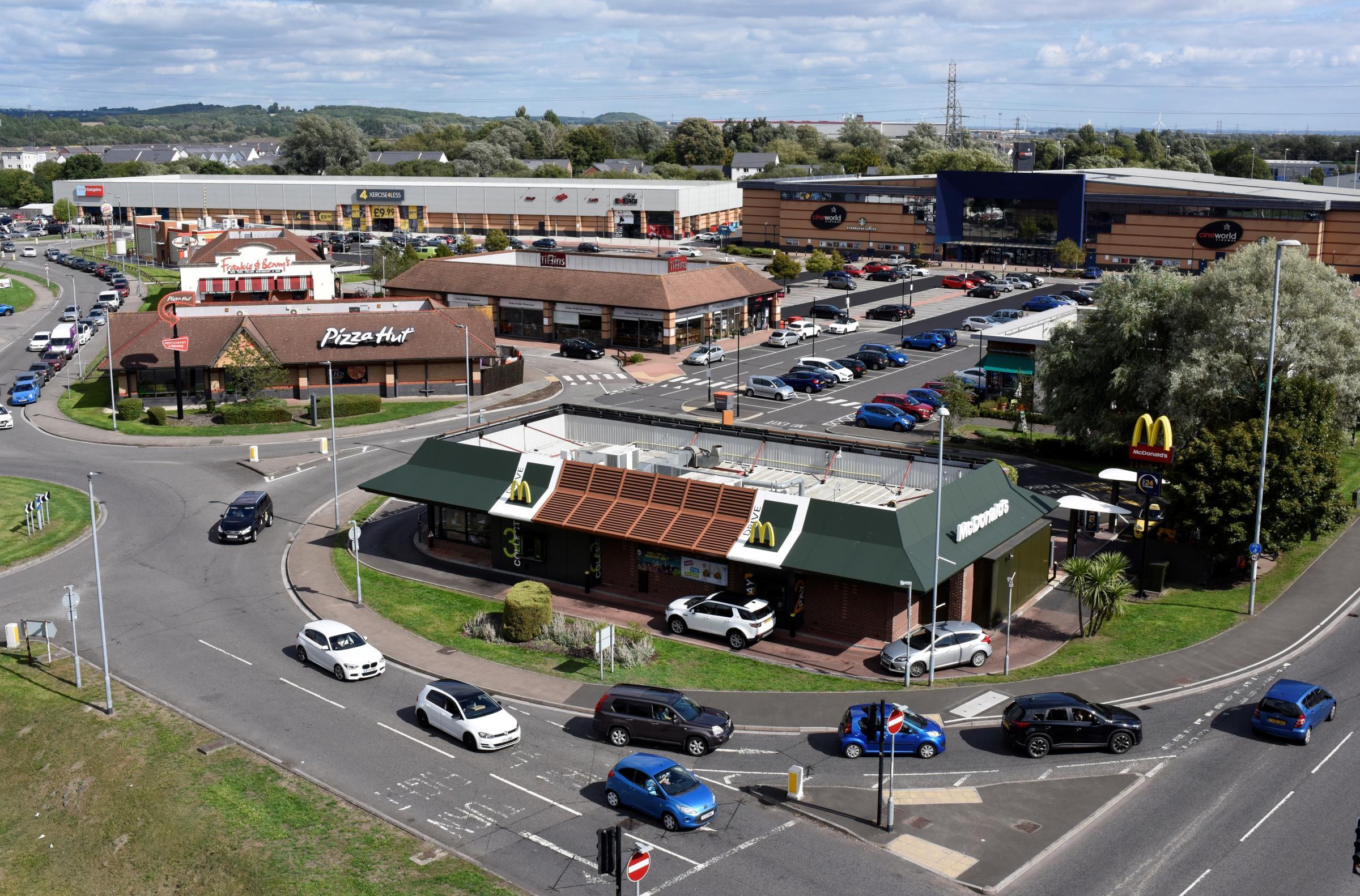 Newport Leisure Park Housing Brands Like Cineworld Pizza