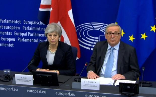 South Wales Argus: European Commission president Jean-Claude Juncker made clear to Theresa May there would be no further movement on the deal (EPTV/PA)