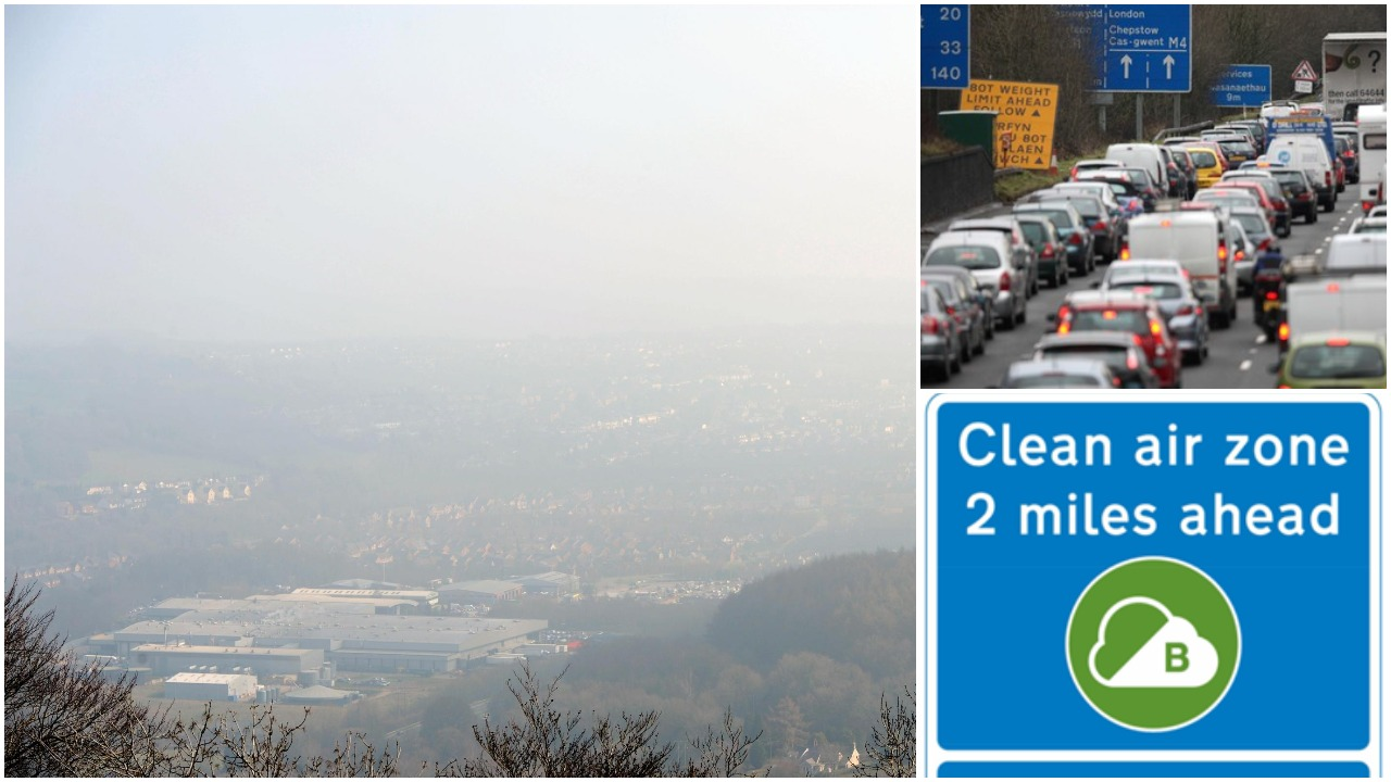 Council reveals strategy to tackle air pollution and congestion in Newport