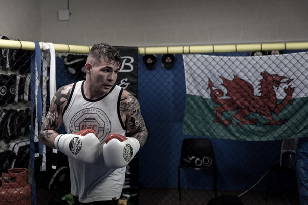 READY TO GO: UFC star Jack Marshman. Picture: @sashshots