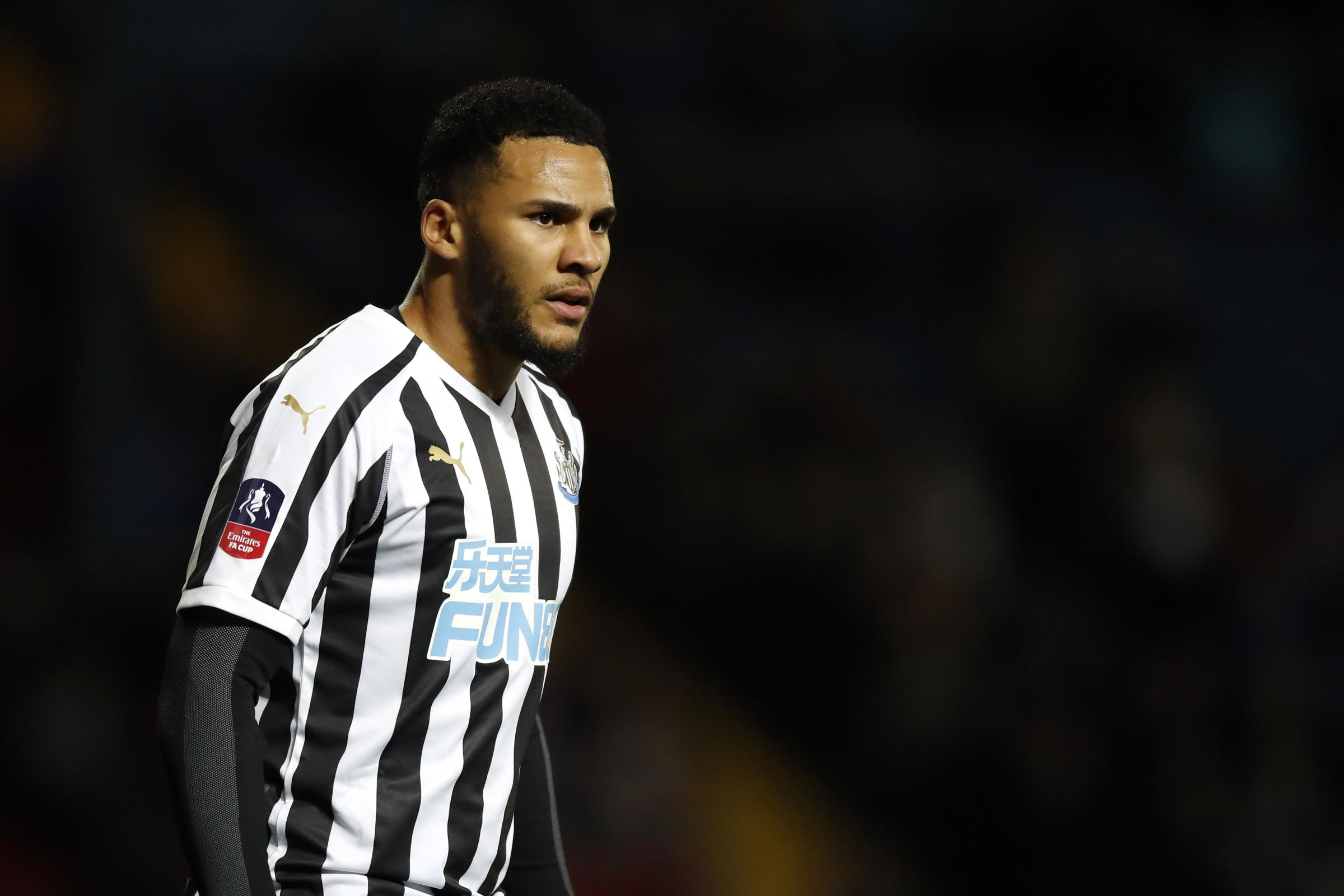 Skipper Jamaal Lascelles is out of Newcastle's Premier League trip to Bournemouth with a knee injury