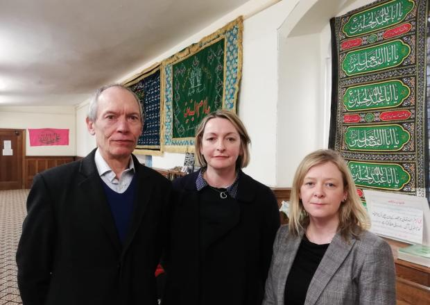 South Wales Argus: John Griffiths AM, Jessica Morden MP, and Jayne Bryant AM