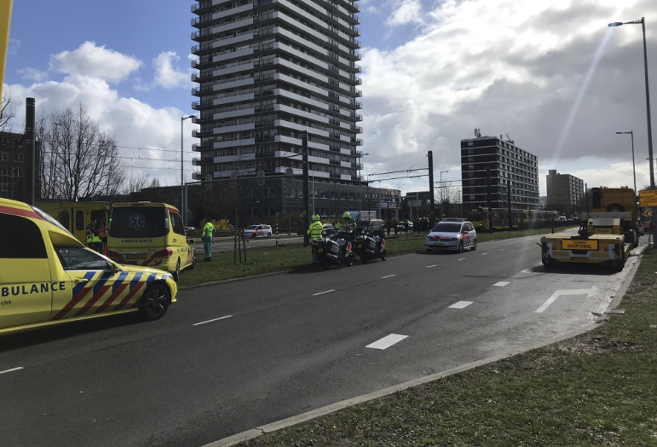 Dutch police considering 'terrorist motive' in tram shooting