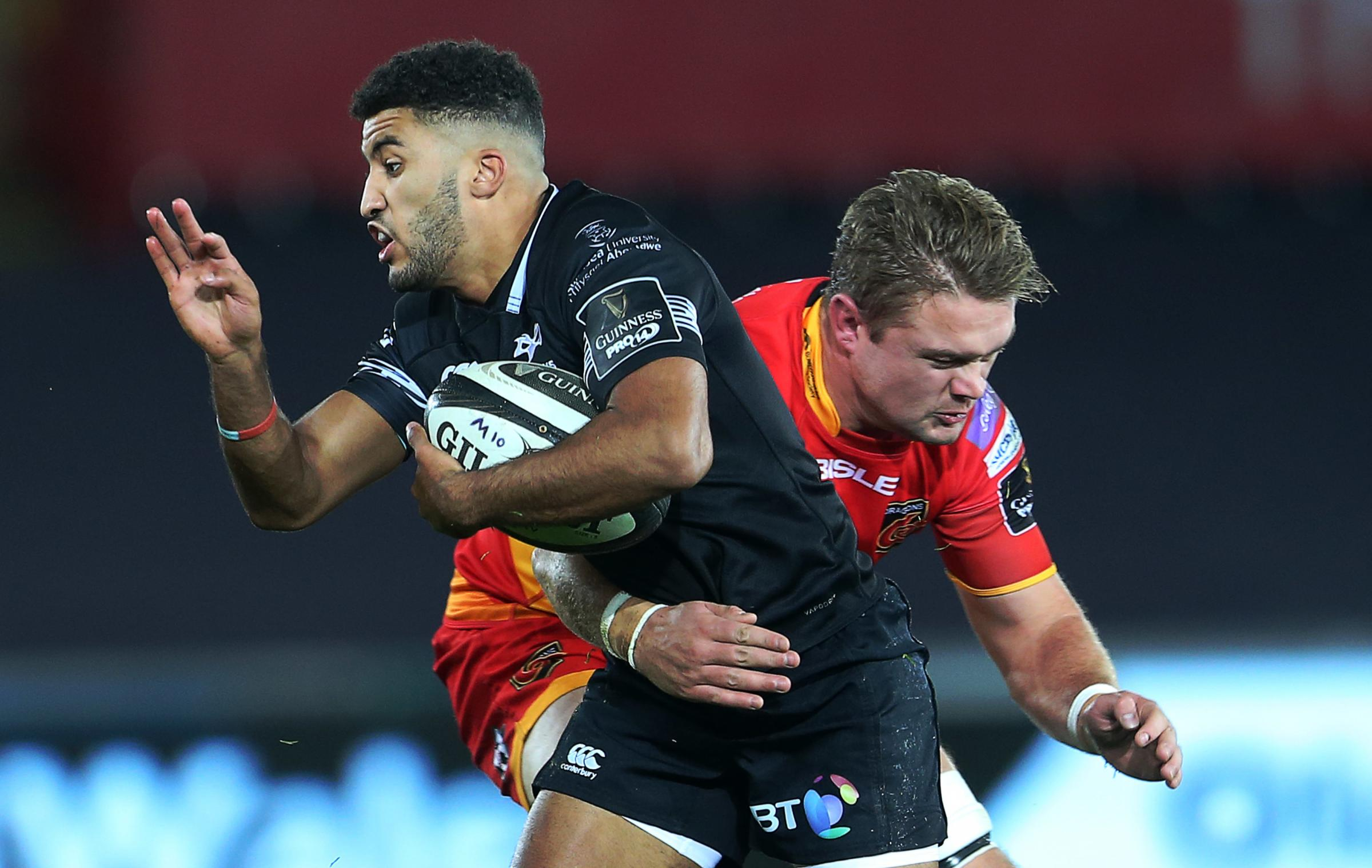 DERBY DAY: It's always a tough encounter with the Ospreys
