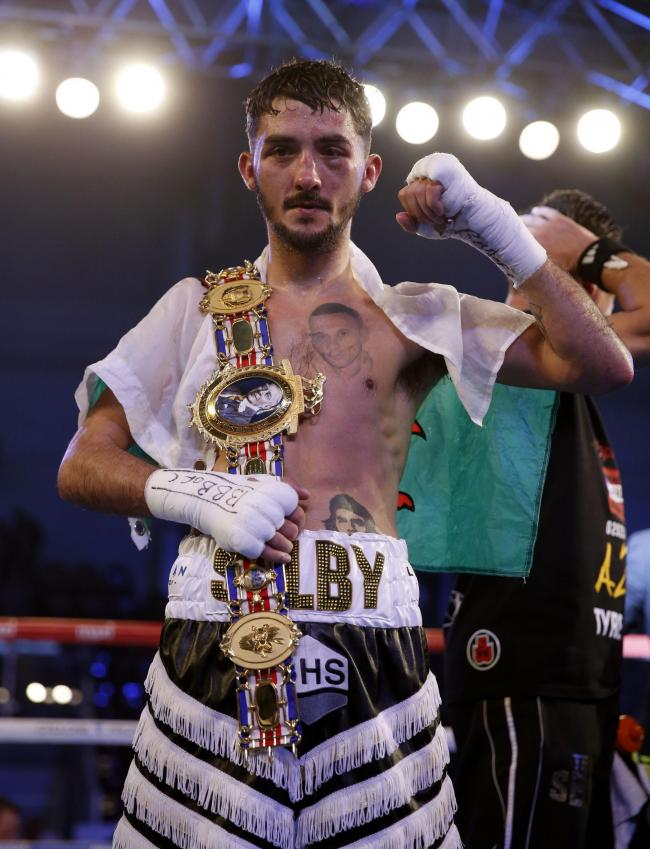WORLD BID: Unbeaten Andrew Selby is in action in Mexico tonight