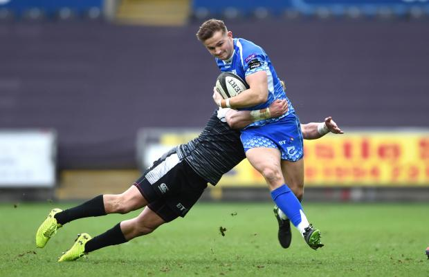 South Wales Argus: BLUES-BOUND: Hallam Amos