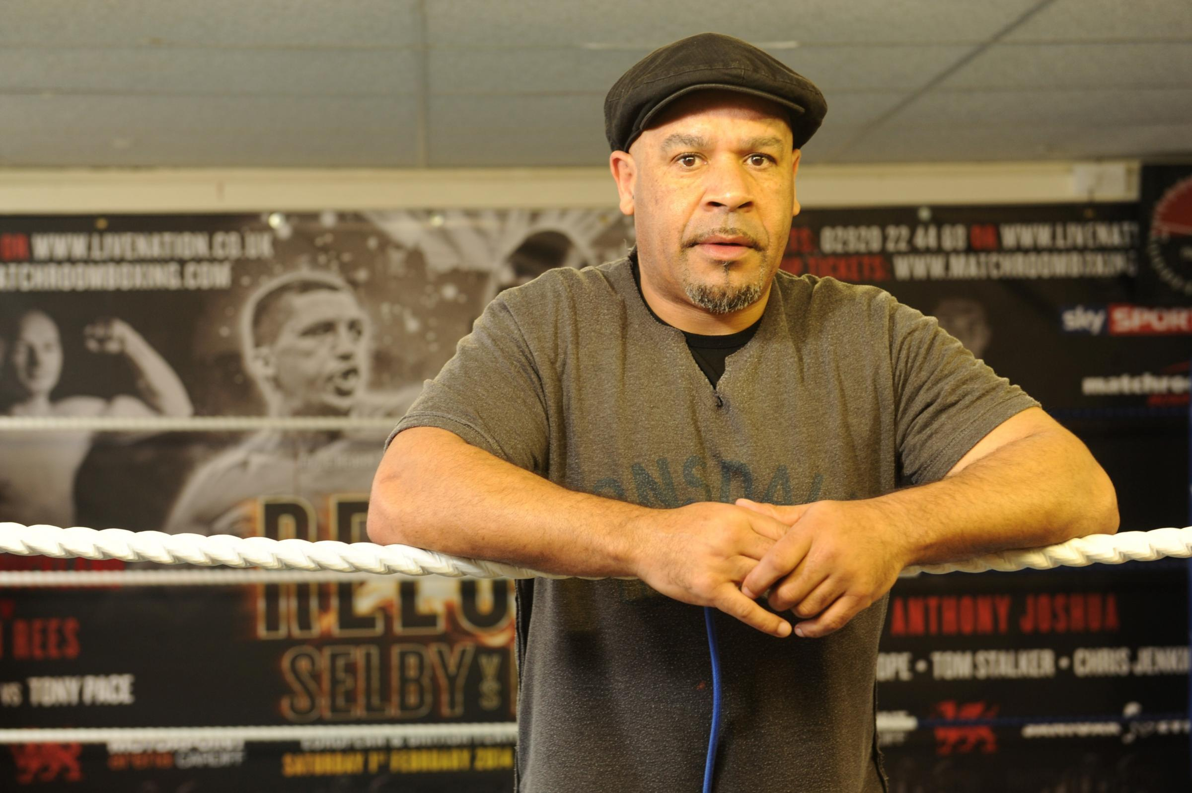LET'S GO TO WORK: Boxing trainer Tony Borg