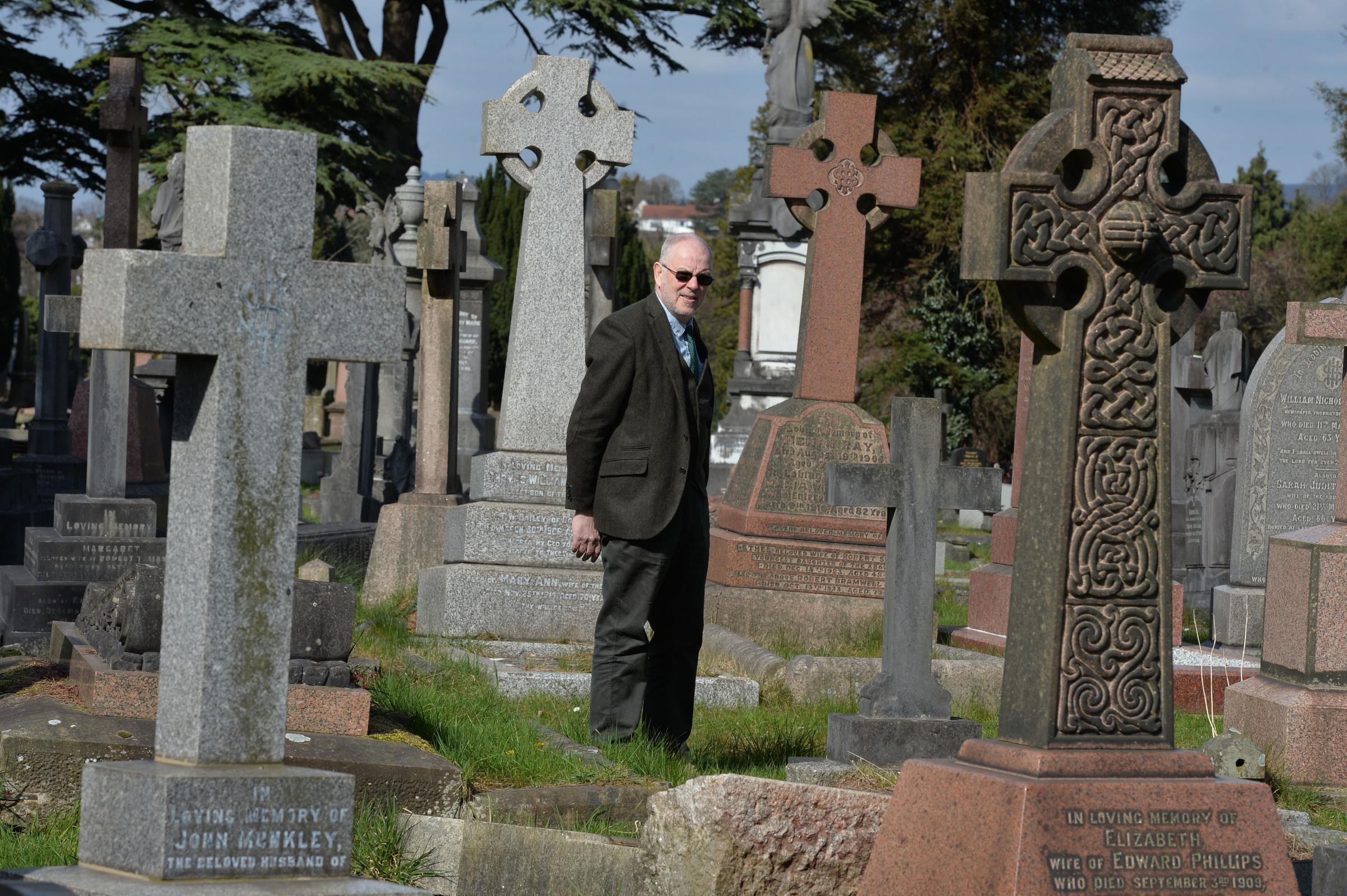 From a boy who was killed by a nerve agent to a murderer - read the fascinating stories of those buried at a historic cemetery