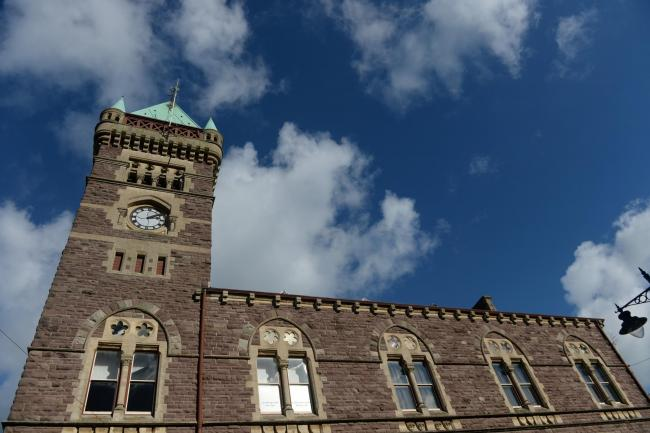 Abergavenny Town Hall - home of the One Stop Shop