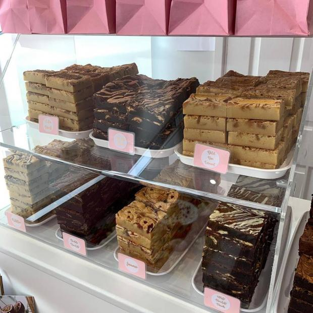 South Wales Argus: The brownies and blondies are some of the most popular choices at Beth's Bakes.