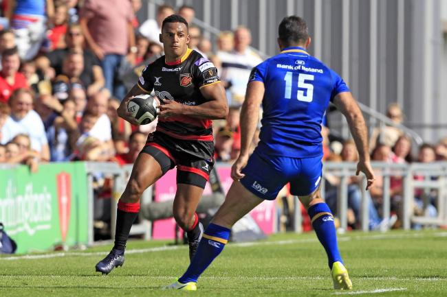 BIG BOOST: The Dragons have kept hold of wing Ashton Hewitt