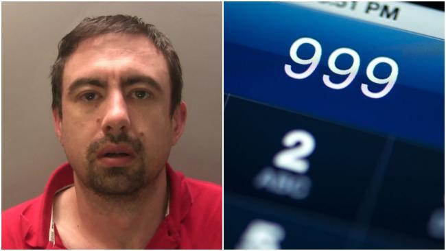 Neil Skiffington, 35, has been jailed for threatening the family members of Gwent Police officers