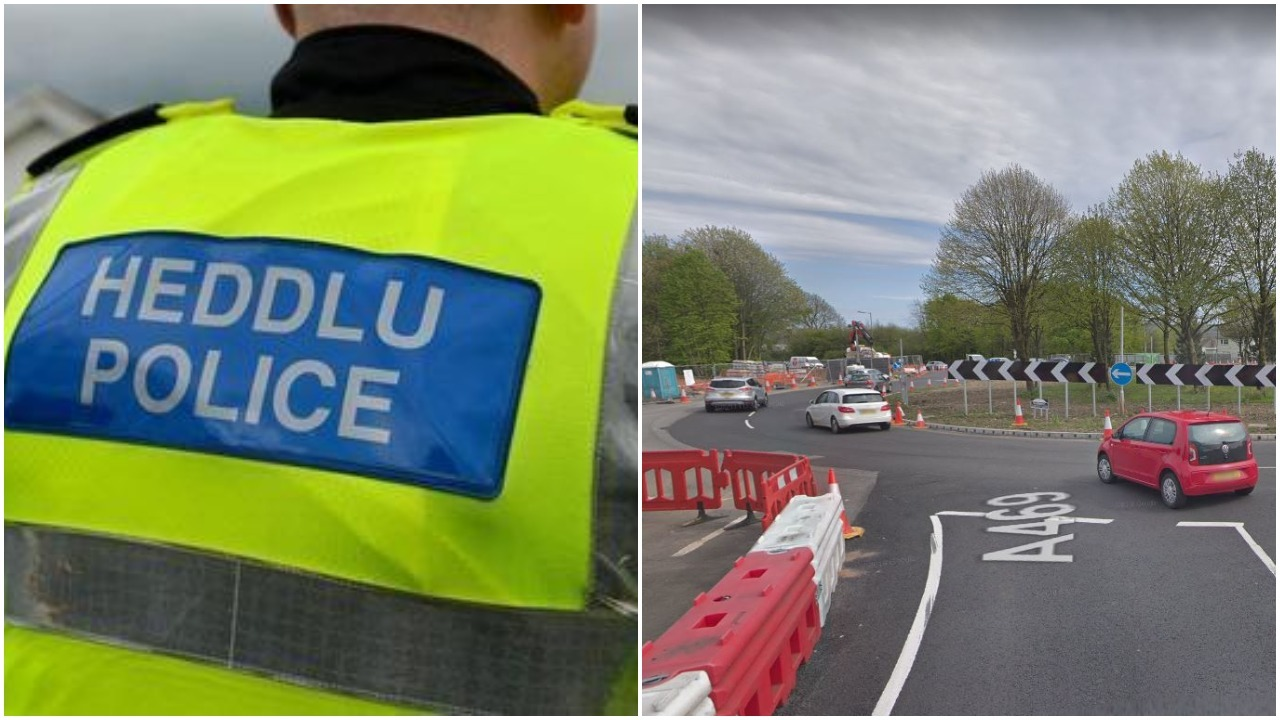The A469 has been closed in both directions