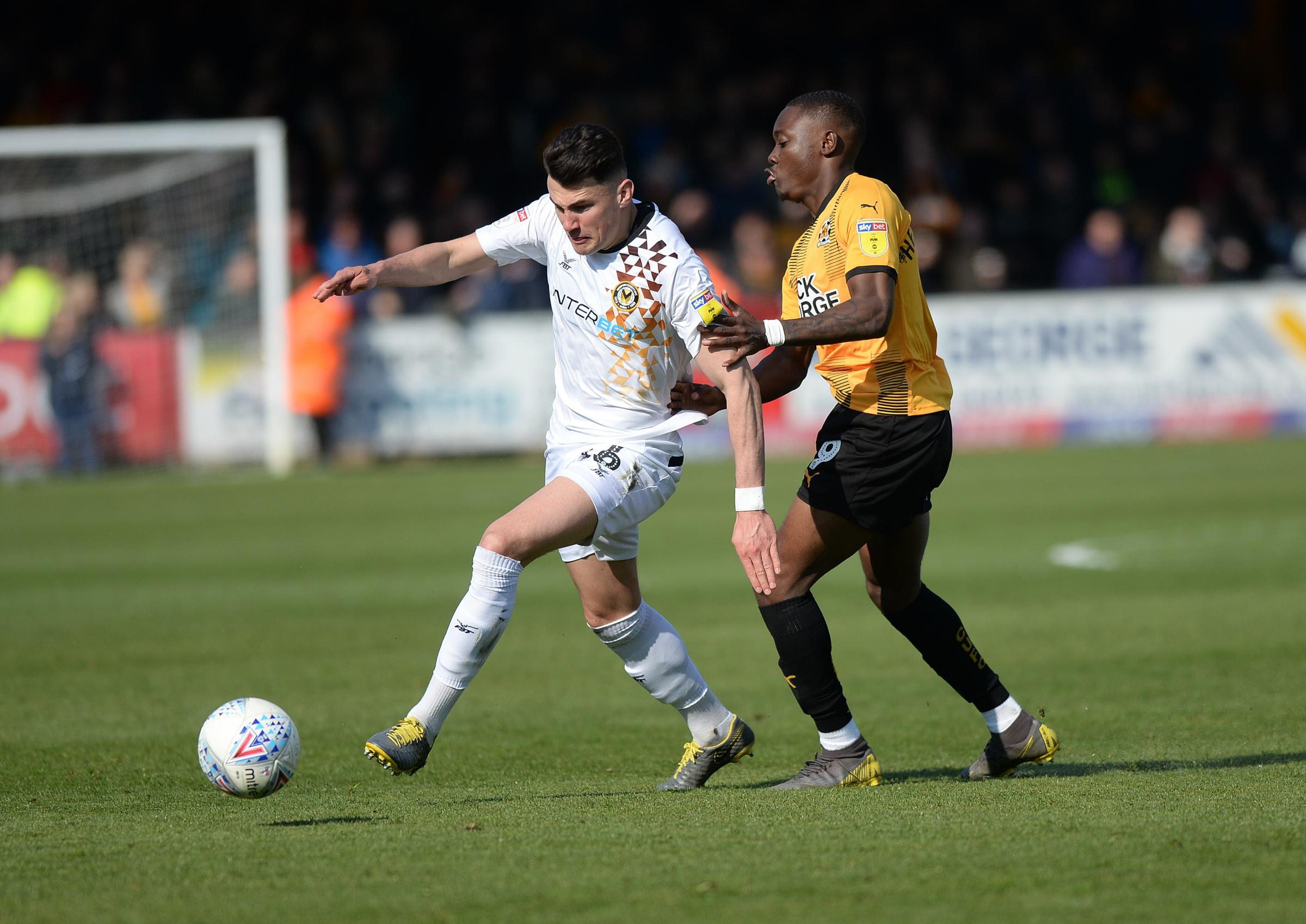 STAR: Regan Poole has made a big difference for Newport County since returning on loan from Manchester United