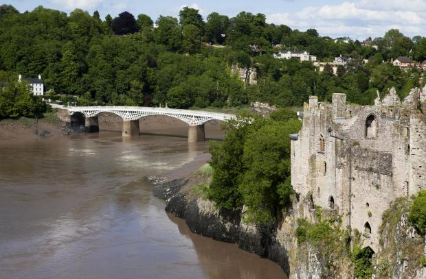 South Wales Argus: A view of Chepstow Castle and the River Wye. Picture: Getty images