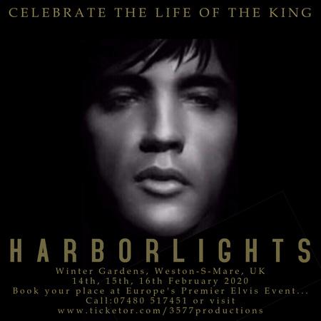 The Harbor Lights Elvis Festival 2020 on 14 February at 13:00