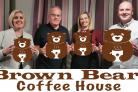 BRAND: The owners of Brown Bear's Coffee House,