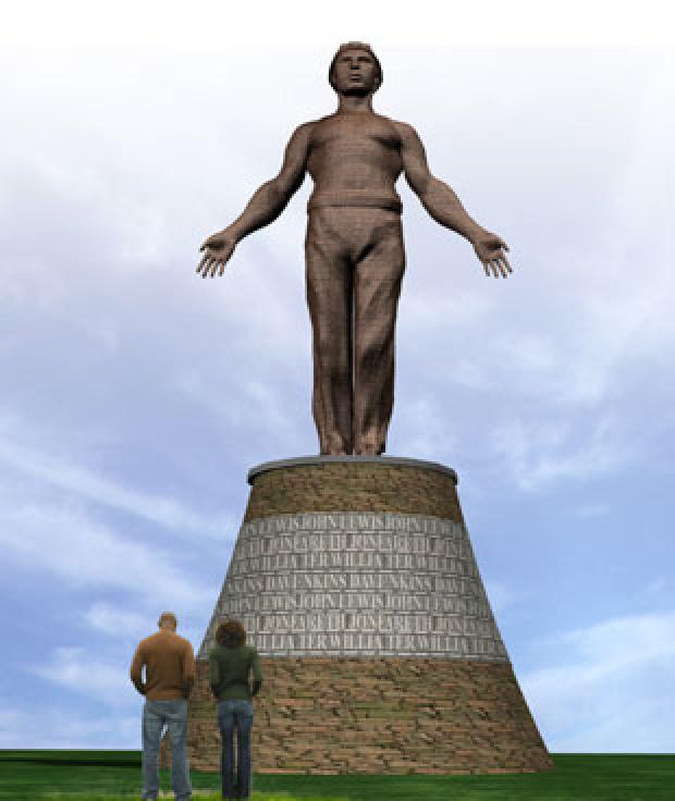 IMPRESSIVE: How the monument will look