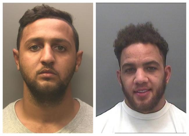 LEADERS: Brothers Jerome Nunes, left, and Blane Nunes who ran a Newport drugs gang