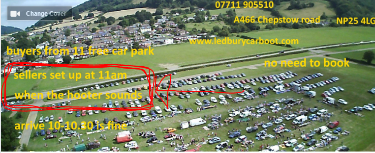 Monmouth Show ground car boot