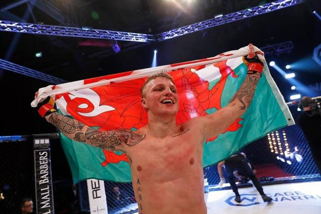PROSPECT: Mason Jones is ready to shine in UFC after starring in Cage Warriors. (Picture: www.dollyclew.com)