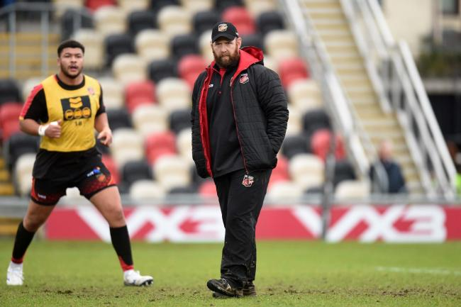 STAYING PUT: Caretaker boss Ceri Jones has committed to the Dragons for next season