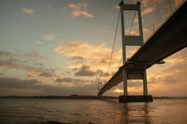 The M48 Severn Bridge. Picture: South Wales Argus Camera Club member Tommy Hopkins