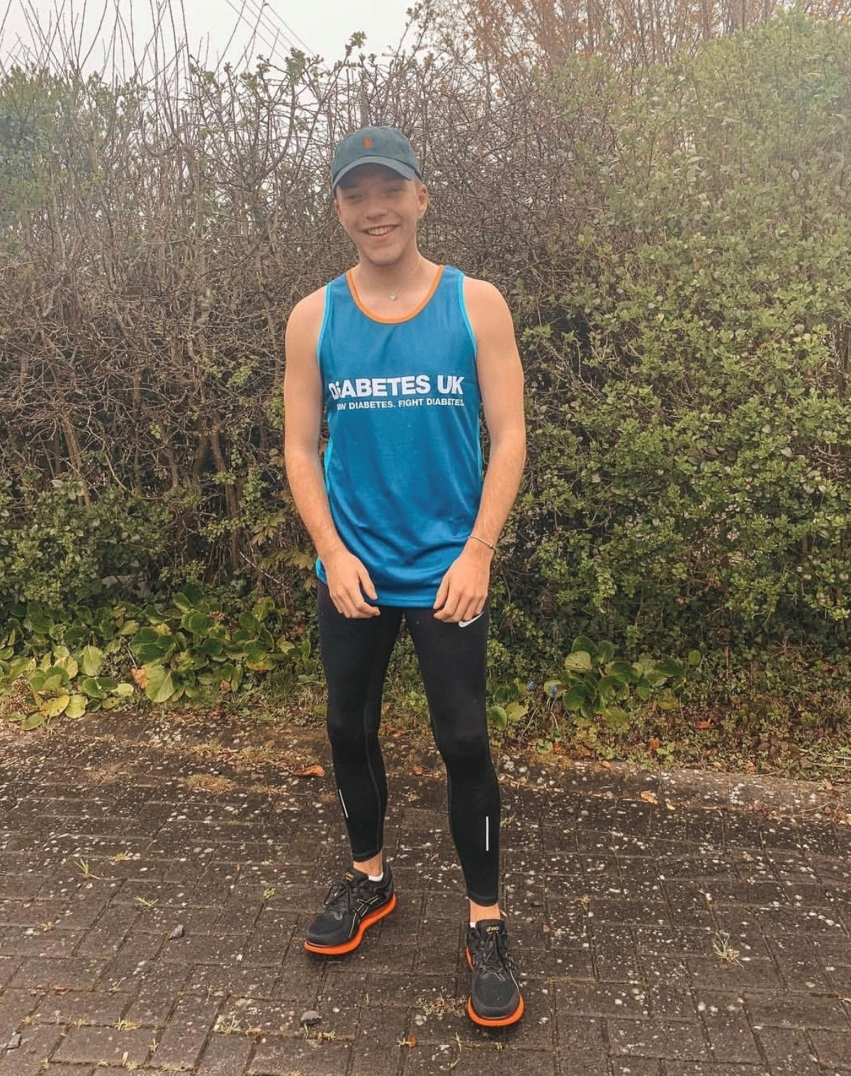 Taylor Lewis who is taking part in JCP Swansea Half Marathon