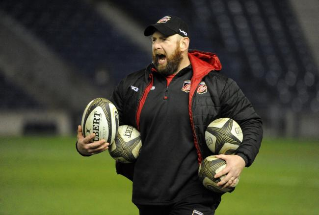 FIRED UP: Dragons boss Ceri Jones wants to scupper the Scarlets at Judgement Day