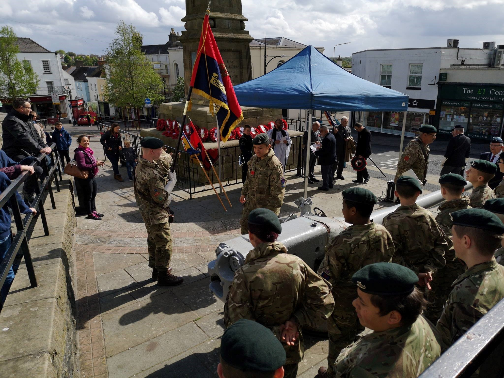 Chepstow marks Anzac Day with Able Seaman Williams tribute